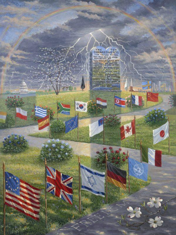 Freedom Walk by Jack E. Dawson