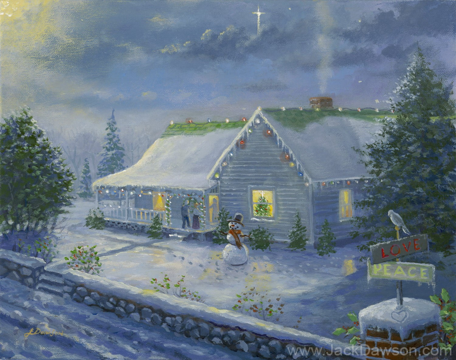 Home For Christmas by Jack E. Dawson