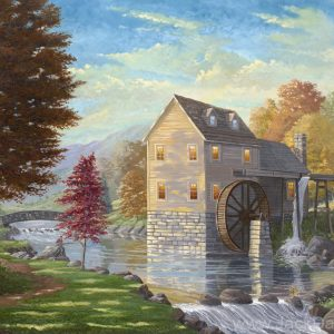 Jordan Creek Mill by Jack E. Dawson