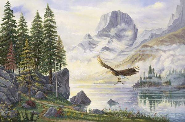 Mountain Altar by Jack E. Dawson