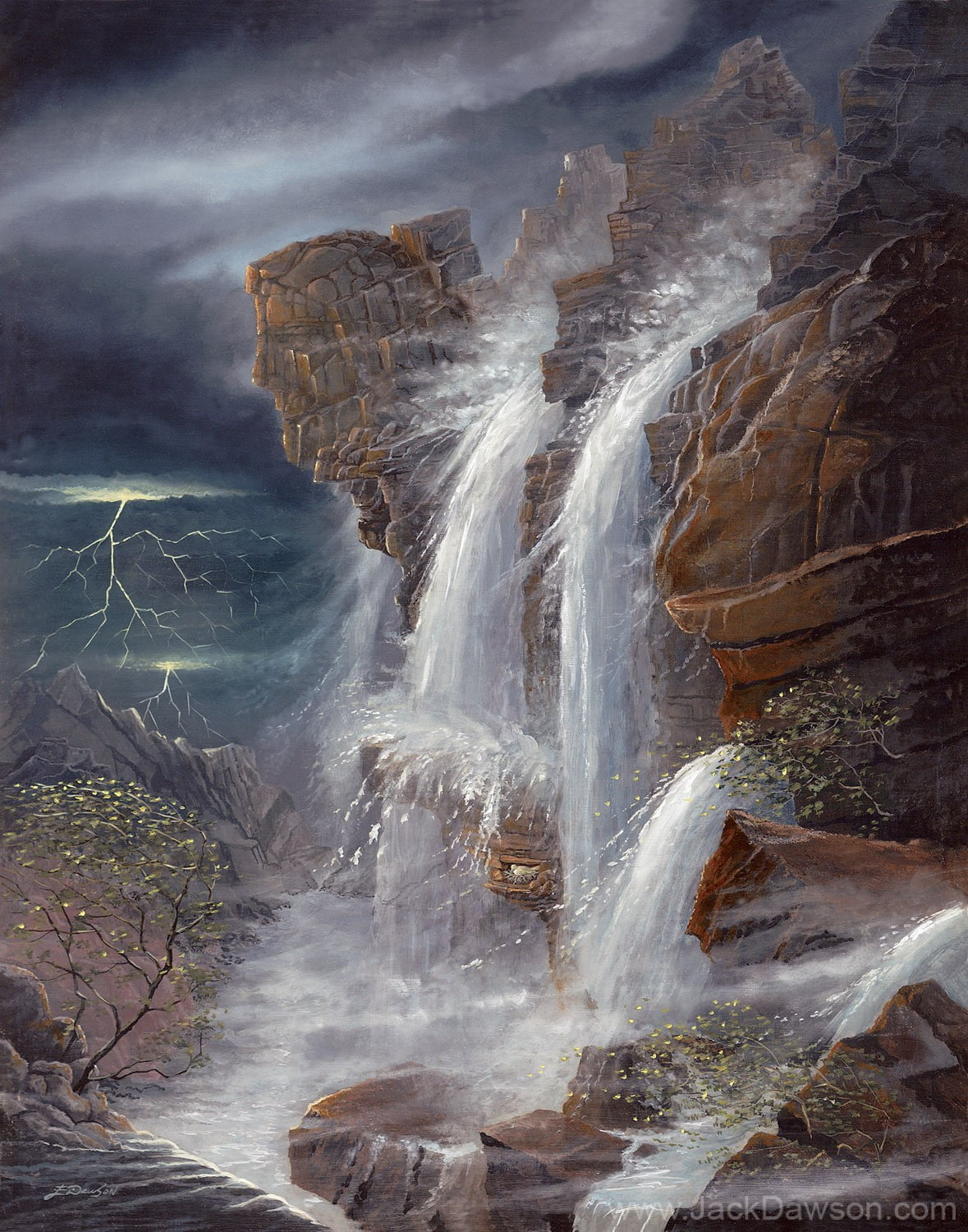 Peace in the Midst of the Storm by Jack E. Dawson