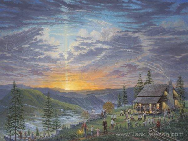 Singin' on the Mountain by Jack E. Dawson