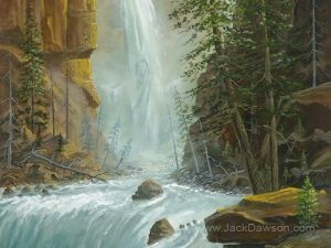 Thundering Waters by Jack E. Dawson
