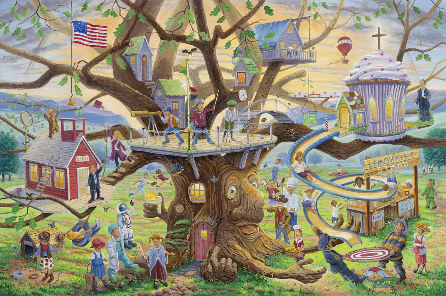 Tree of Life by Jack E. Dawson