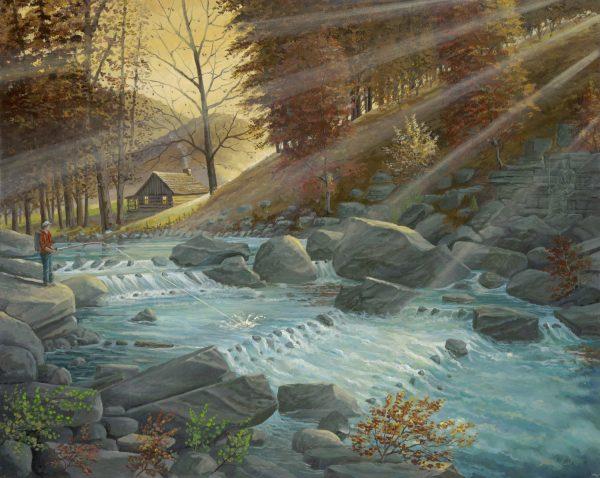 Two Fisherman by Jack E. Dawson