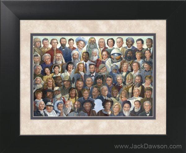 Decision by Jack E. Dawson - 11x14 Framed