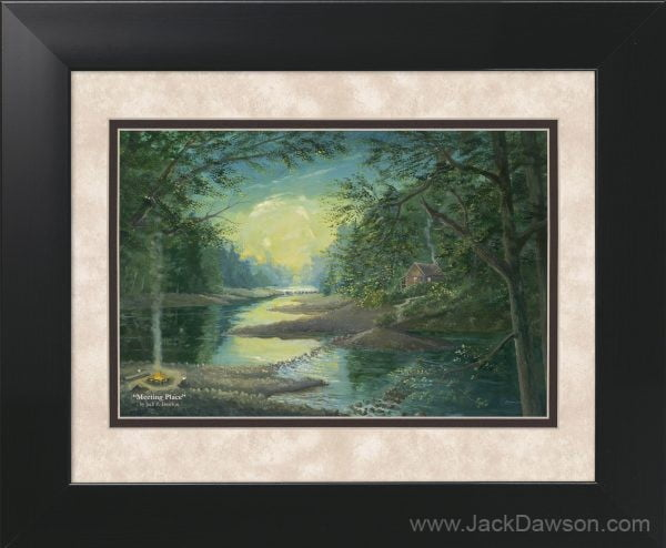 Meeting Place by Jack E. Dawson - 11x14 Framed