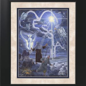 Messiah by Jack E. Dawson - 11x14 Framed