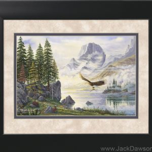 Mountain Altar by Jack E. Dawson - 11x14 Framed