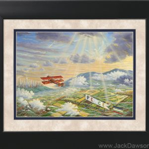 Peace by Jack E. Dawson - 11x14 Framed
