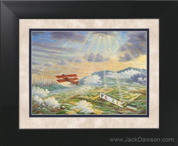 Peace by Jack E. Dawson - 11x14 Framed