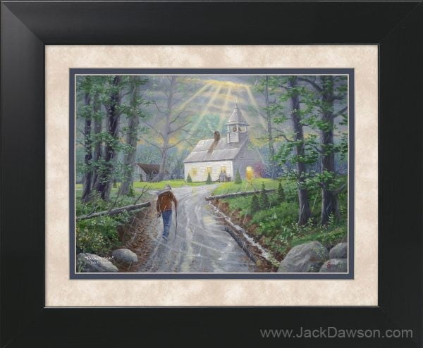 Redemption by Jack E. Dawson - 11x14 Framed