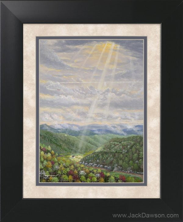 Repentance by Jack E. Dawson - 11x14 Framed