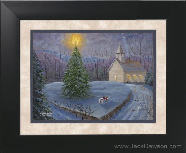 Unopened Gift by Jack E. Dawson - 11x14 Framed