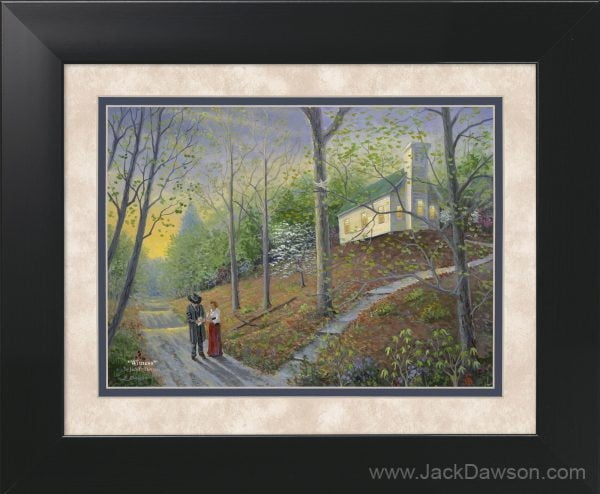 Witness by Jack E. Dawson - 11x14 Framed