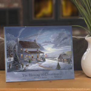 Blessing of Christmas by Jack E. Dawson - 8x10 Tile