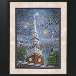 Celebrate Freedom by Jack E. Dawson - 11x14 Framed