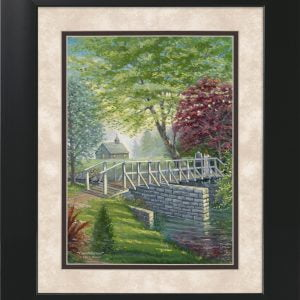 Commitment by Jack E. Dawson - 11x14 Framed