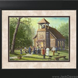 Dinner and Singin' by Jack E. Dawson- 11x14 Framed