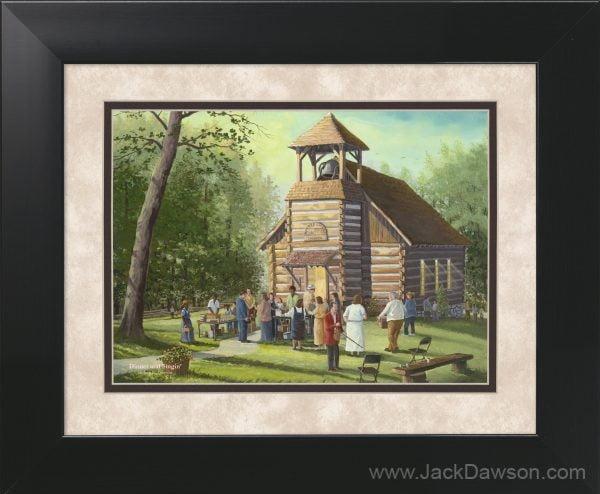 Dinner and Singin' by Jack E. Dawson- 11x14 Framed
