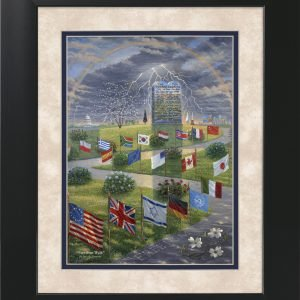 Freedom Walk by Jack E. Dawson - 11x14 Framed