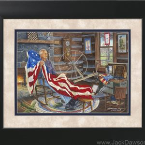 Freedom's Legacy by Jack E. Dawson - 11x14 Framed