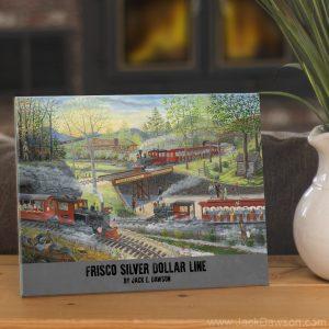 Frisco Silver Dollar Line by Jack E. Dawson - 8x10 Tile