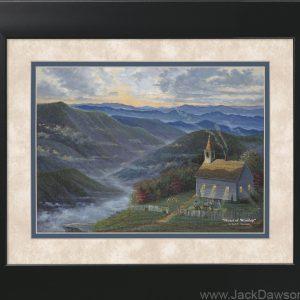 Heart of Worship by Jack E. Dawson - 11x14 Framed