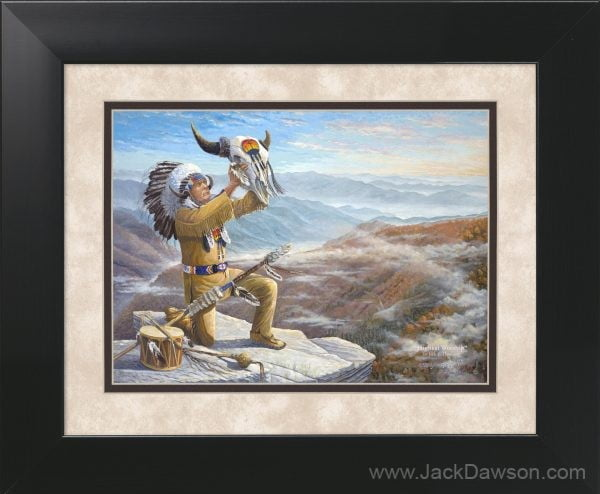 Highest Praise by Jack E. Dawson - 11x14 Framed