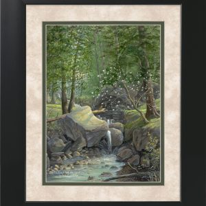 His Eye is on the Sparrow by Jack E. Dawson - 11x14 Framed