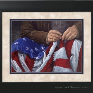 If My People by Jack E. Dawson - 11x14 Framed
