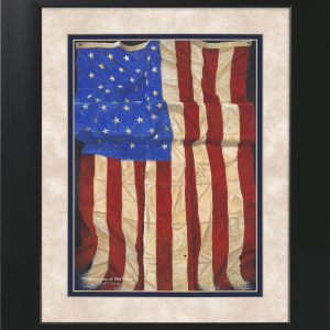 Impressions of Old Glory by Jack E. Dawson - 11x14 Framed