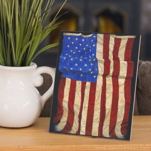 Impressions of Old Glory by Jack E. Dawson - 8x10 Tile