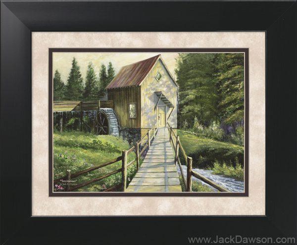 Invitation - 11x14 Framed by Jack E. Dawson