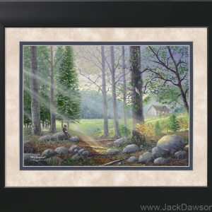 Meditation - 11x14 Framed by Jack E. Dawson