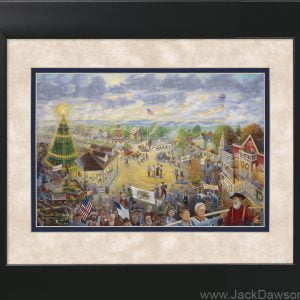 Memories Worth Repeating by Jack E. Dawson - 11x14 Framed