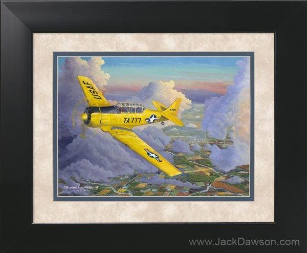Mission Accomplished by Jack E. Dawson - 11x14 Framed