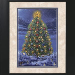 Passion Tree by Jack E. Dawson - 11x14 Framed