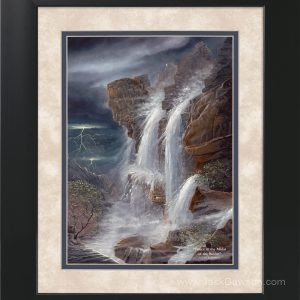 Peace in the Midst of the Storm by Jack E. Dawson - 11x14 Framed