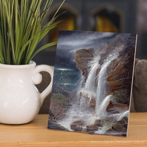 Peace in the Midst of the Storm by Jack E. Dawson - 8x10 Tile
