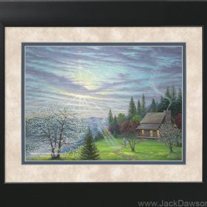Rebirth - A New Beginning by Jack E. Dawson - 11x14 Framed