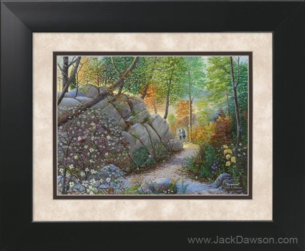 Seasons by Jack E. Dawson - 11x14 Framed