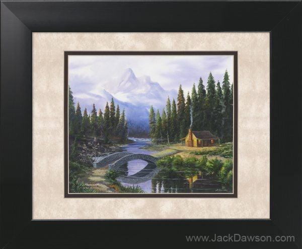 Serenity by Jack E. Dawson - 11x14 Framed