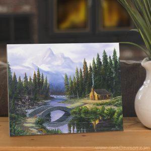 Serenity by Jack E. Dawson- 8x10 Tile