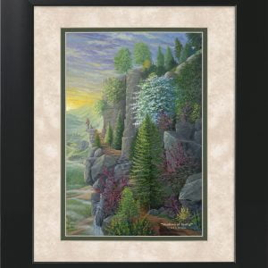 Shadows of Spring by Jack E. Dawson - 11x14 Framed