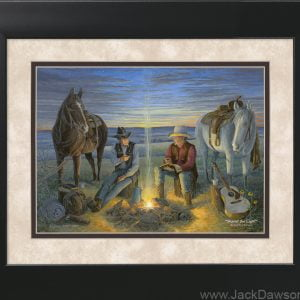 Sharin' the Light by Jack E. Dawson - 11x14 Framed