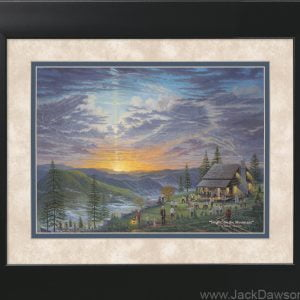 Singin on the Mountain by Jack E. Dawson - 11x14 Framed