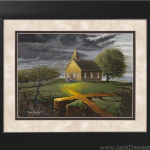 Storm Warning by Jack E. Dawson - 11x14 Framed