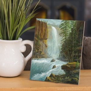 Thundering Waters by Jack E. Dawson - 8x10 Tile