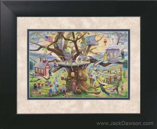 Tree of Life by Jack E. Dawson - 11x14 Framed